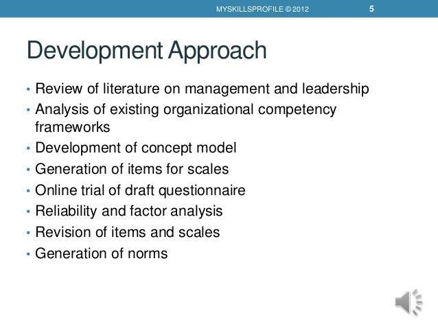 literature review of organizational development