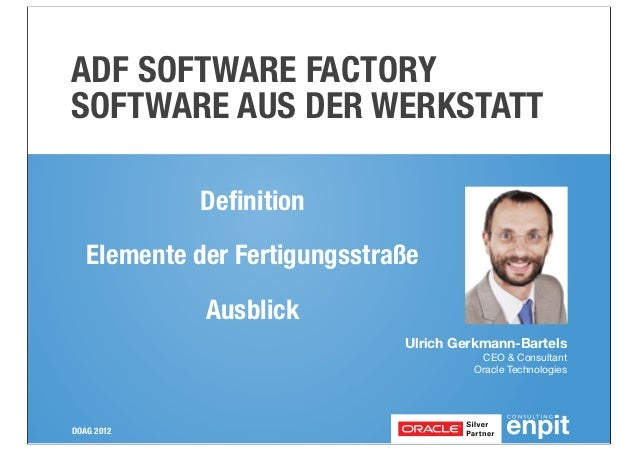 ADF Software Factory