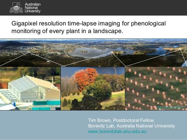Gigapixel imaging, ESA Australia, Dec 2012