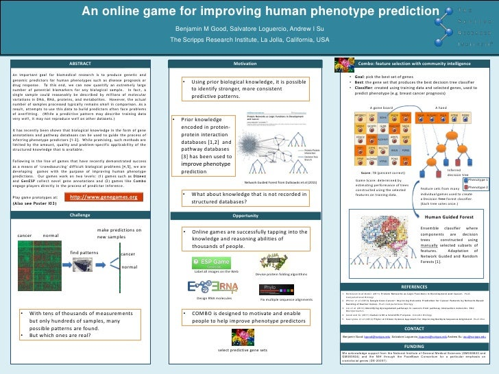An online game for improving human phenotype prediction                                                                   ...