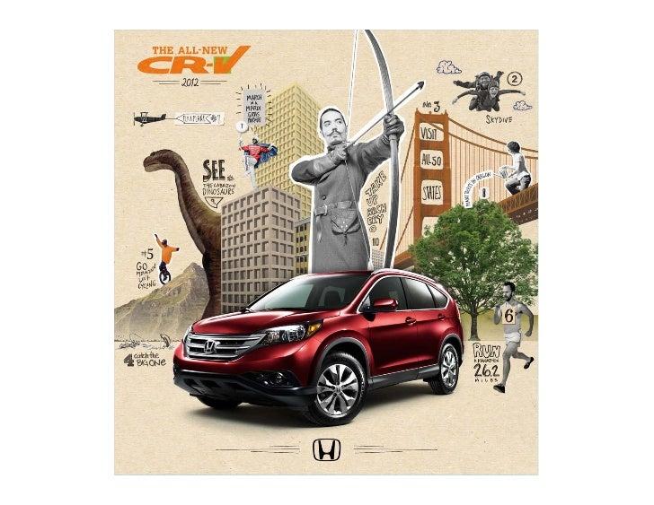 2012 honda cr v brochure dch honda of temecula for Honda dealers wny
