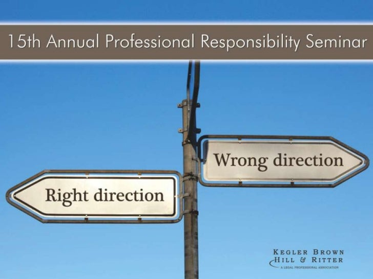 15th Annual Professional Responsibility Seminar