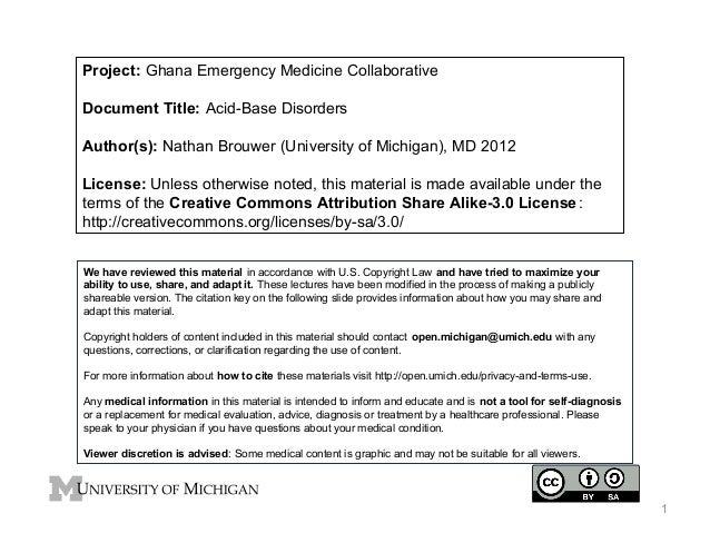 GEMC- Acid-Base Disorders- for Residents
