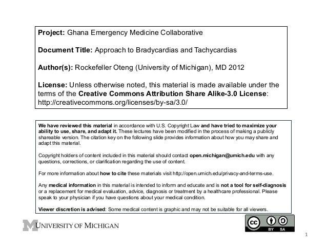 GEMC- Approach to Bradycardias and Tachycardias-for Residents