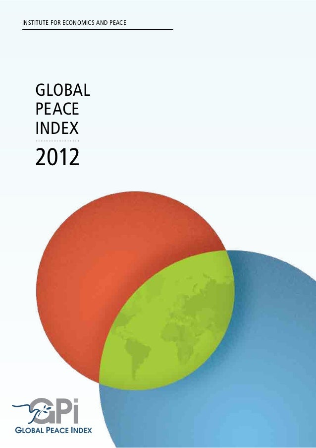 2012 Global Peace Index Report