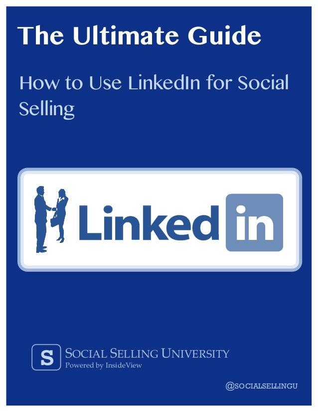 LinkediI for Social Selling