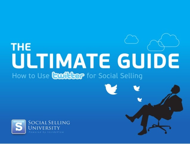 How to use Twitter for socialselling