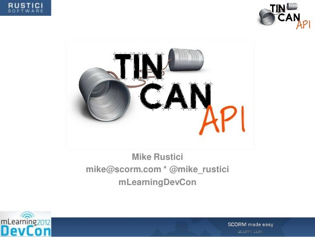 2012 mLearning DevCon – Mike Rustici