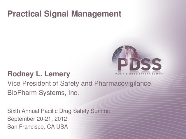 Practical Signal Management