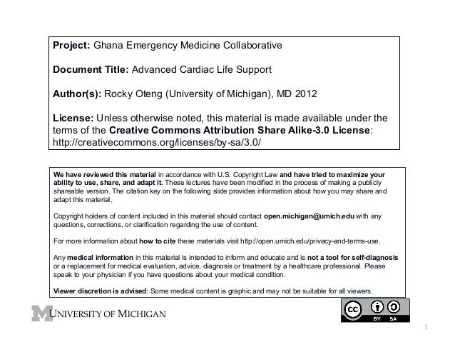 GEMC- Advanced Cardiac Life Support- for Residents