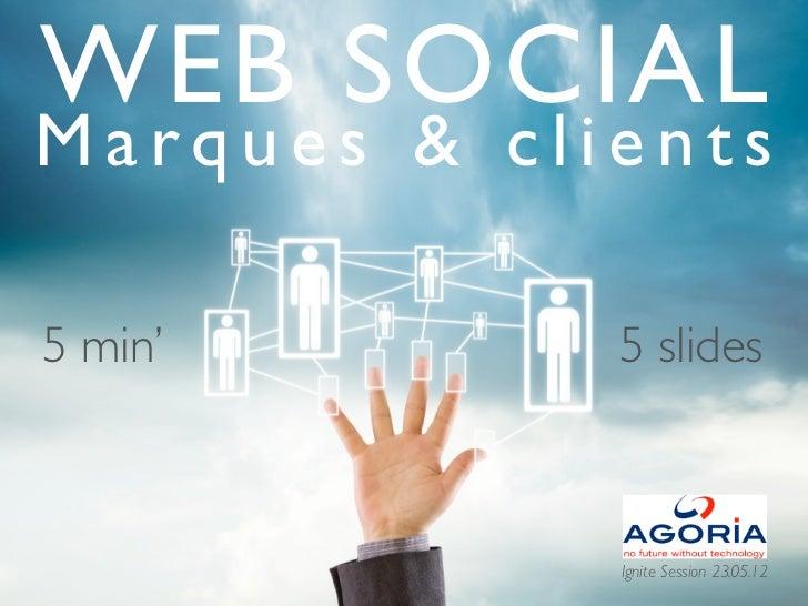 WEB SOCIALMarques & clients5 min'                                                                                         ...