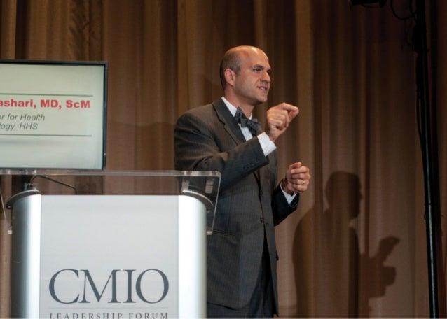 The 2012 CMIO Leadership Forum