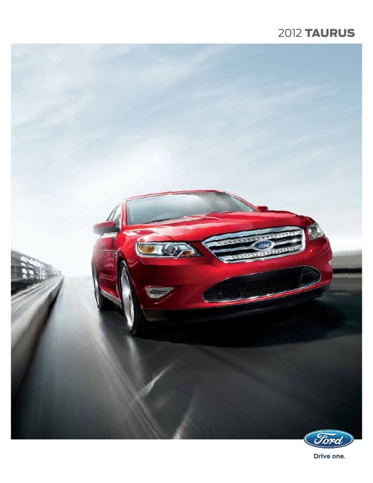 2012 Ford Taurus Brochure