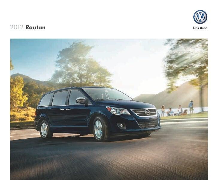 2012 VW Routan Minivan
