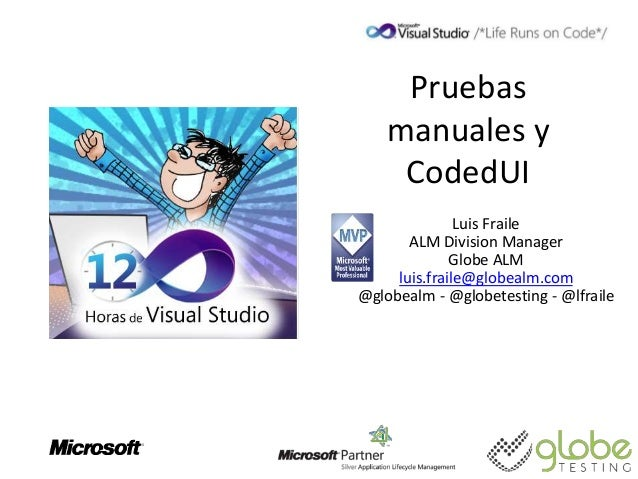 Microsoft Test Manager y pruebas CodedUI