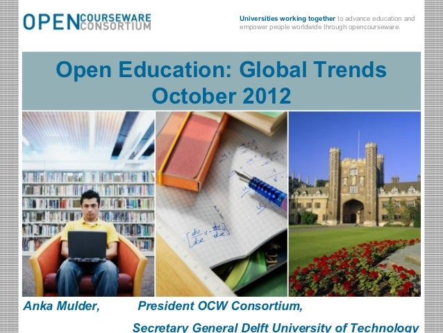 Universities working together to advance education and                                            empower people worldwide...