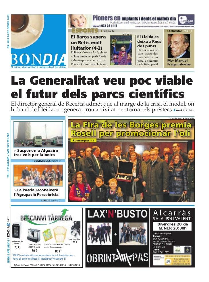 BonDia Lleida 16012012