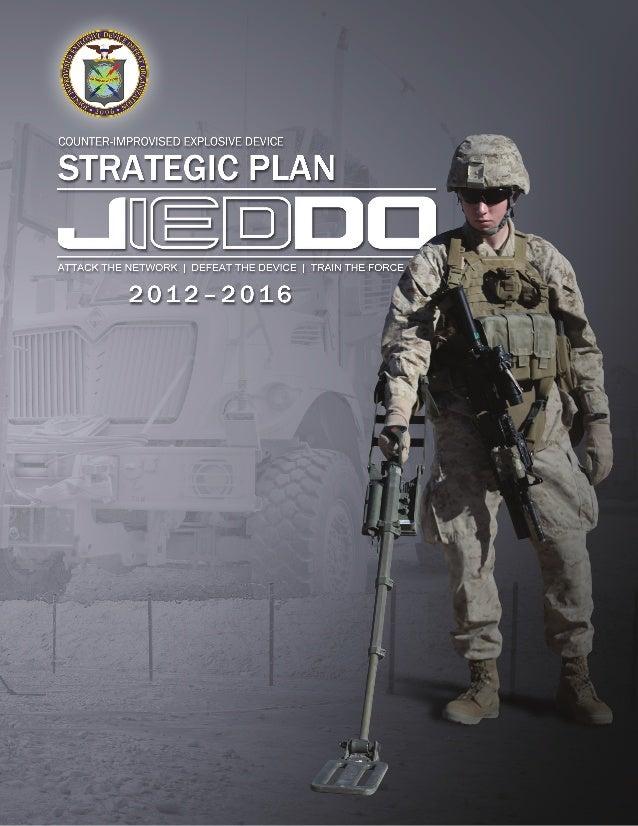 JIEDDO Counter-IED Strategic Plan May 2013