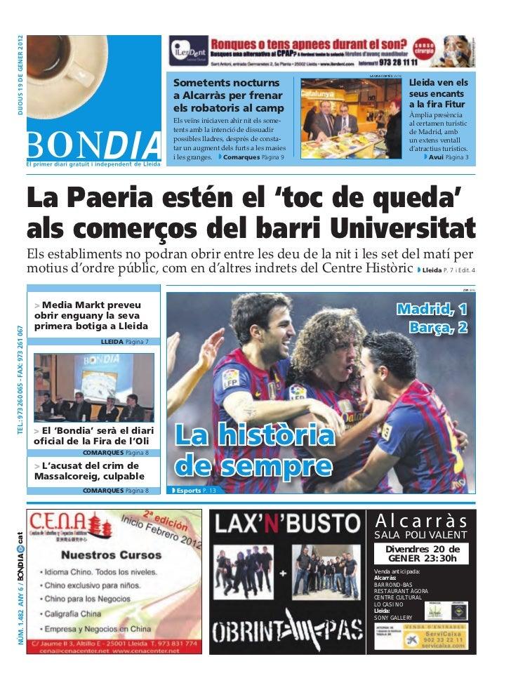 BonDia Lleida 19012012