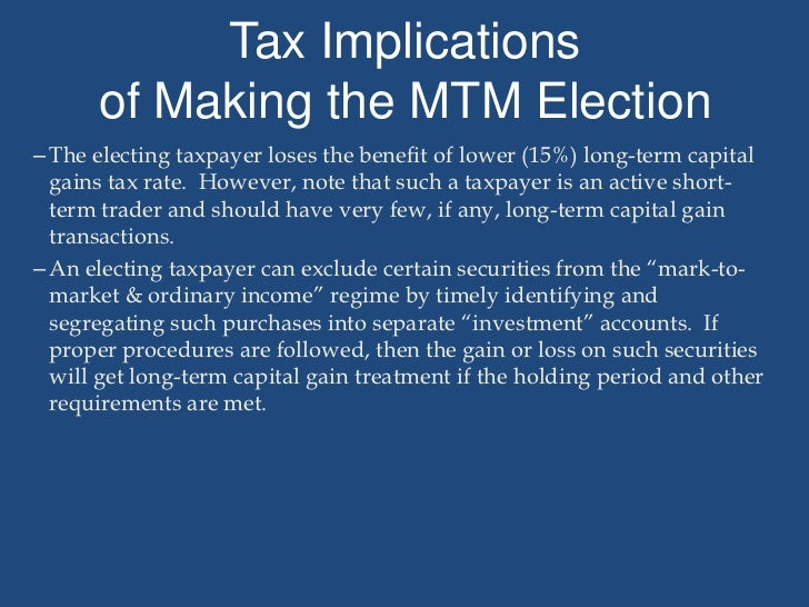Sell stock options tax implications