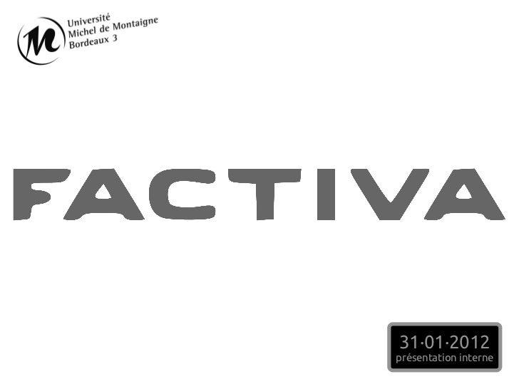 31·01·2012présentation interne