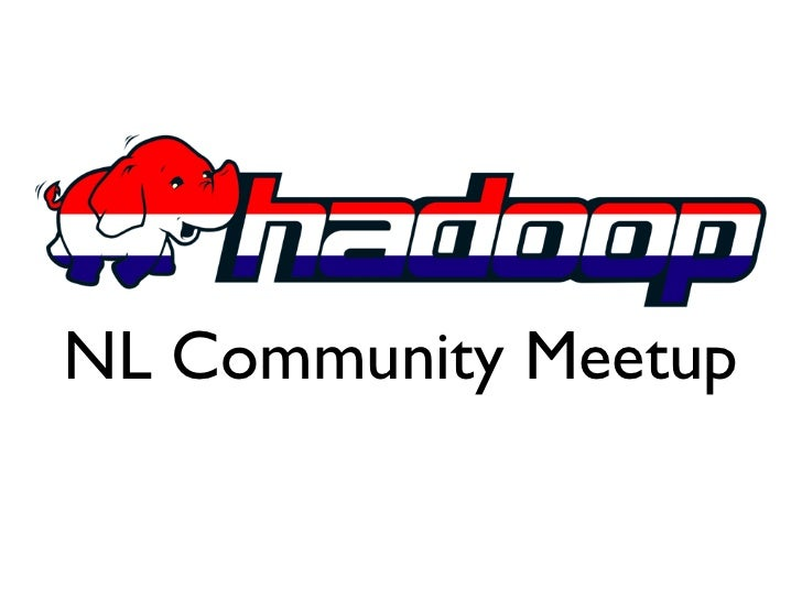 First nlhug meetup opening slides