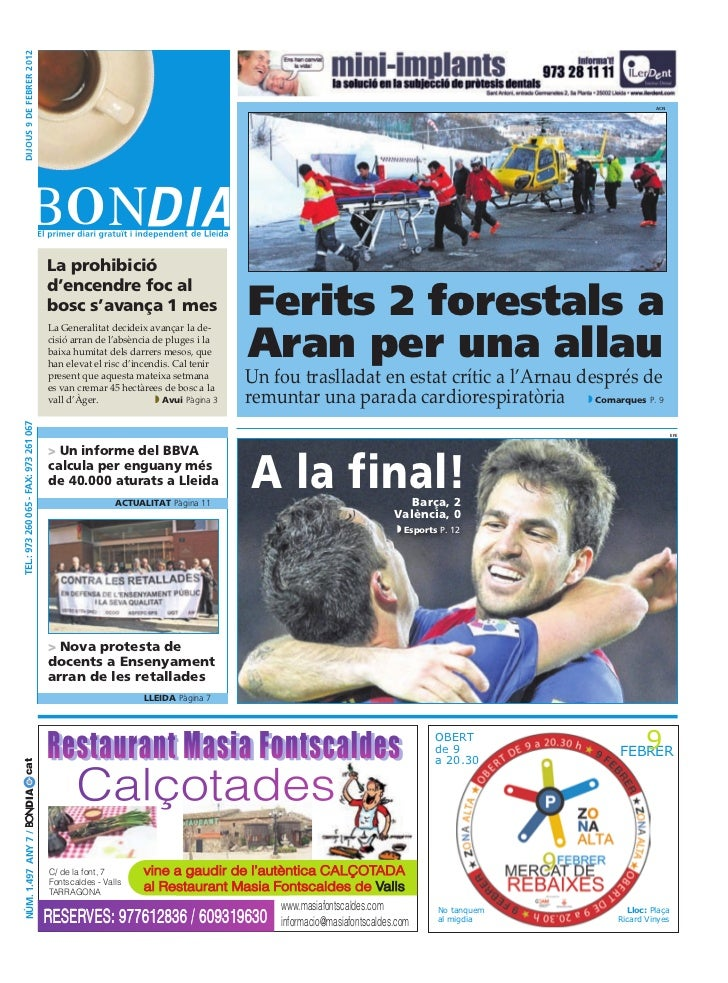 BonDia Lleida 09022012