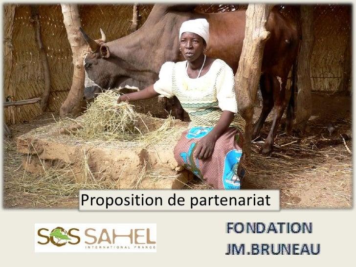 Proposition de partenariat