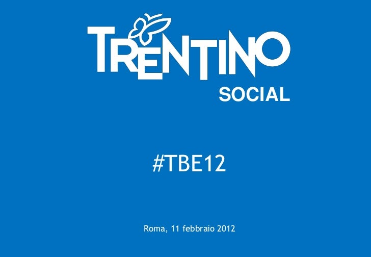 Il Trentino a TBE Roma