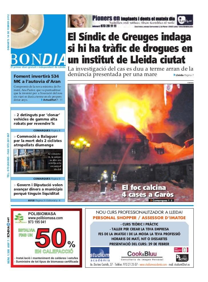 dimarts 14 dE fEbrEr 2012                                                                                      El Síndic d...