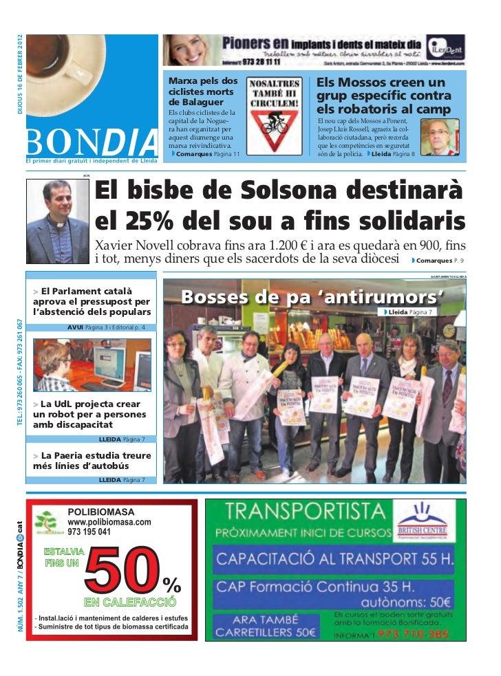 BonDia Lleida 16022012