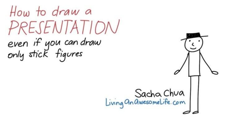 How to draw a presentation