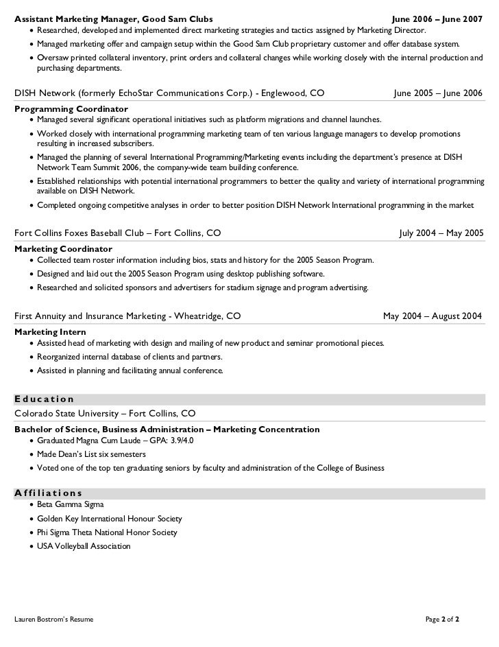 how to set up a good resume