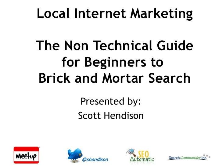 Non Tech Local Search Presentation