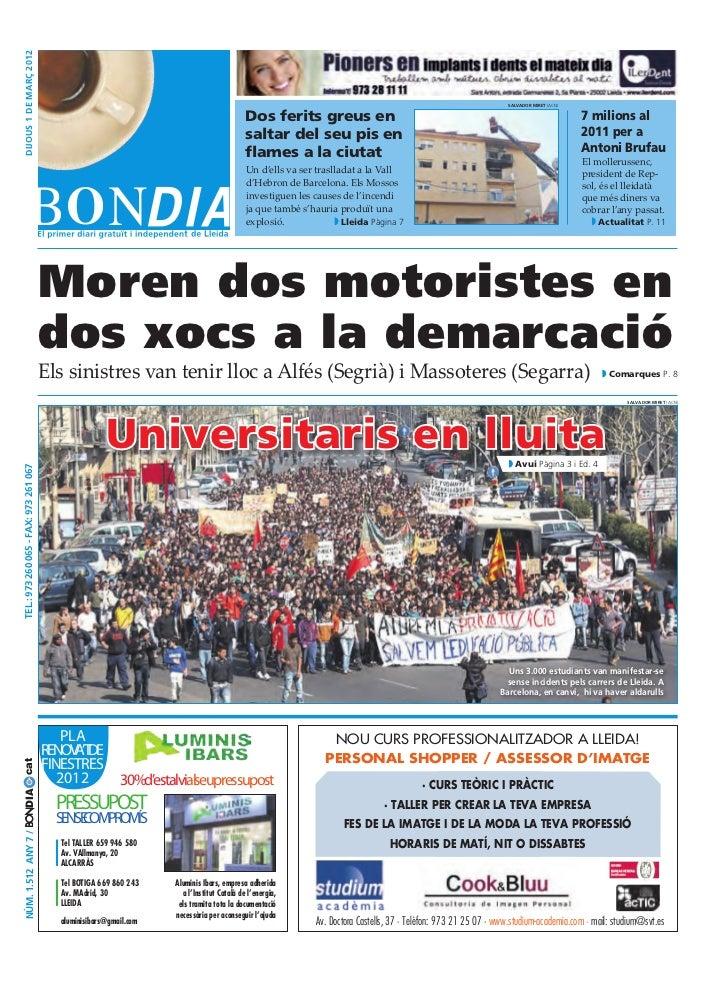 Bondia Lleida 01032012