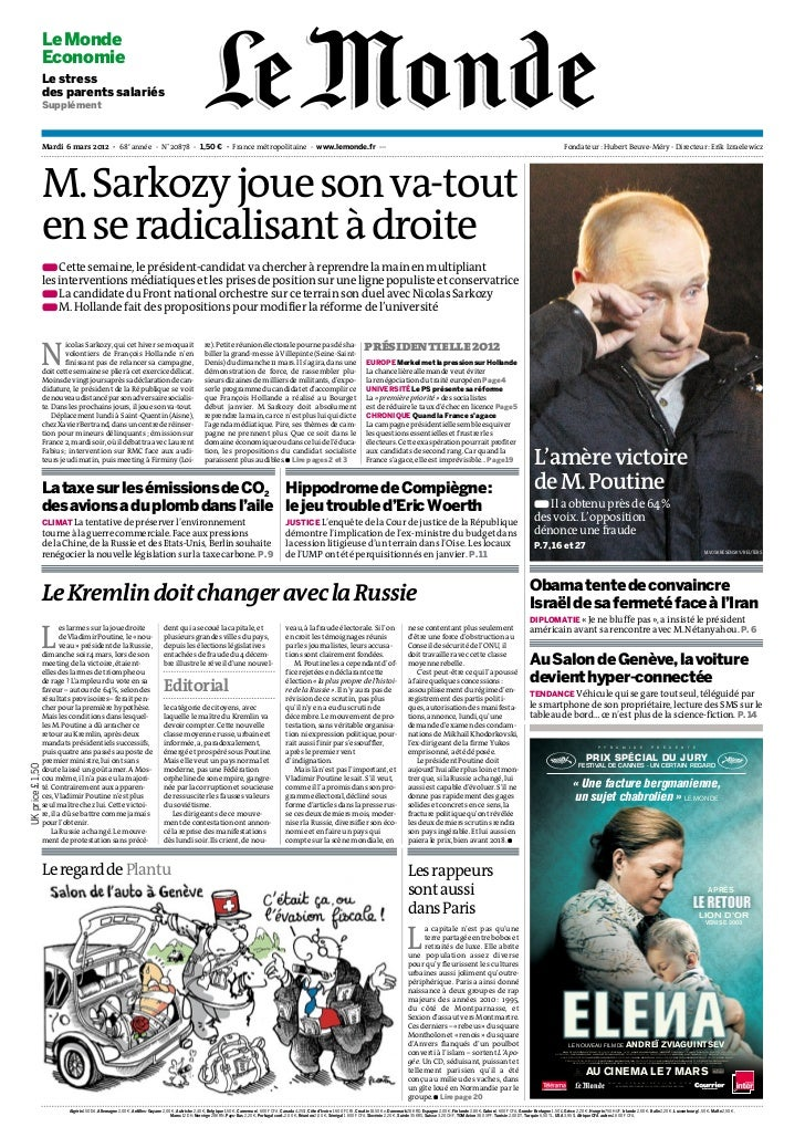 Le Monde              Economie              Le stress              des parents salariés              Supplément           ...