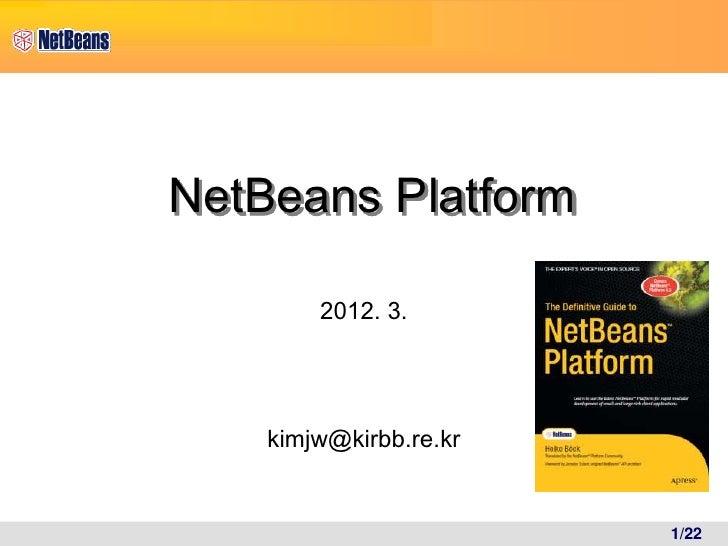 netbeansplatform overview
