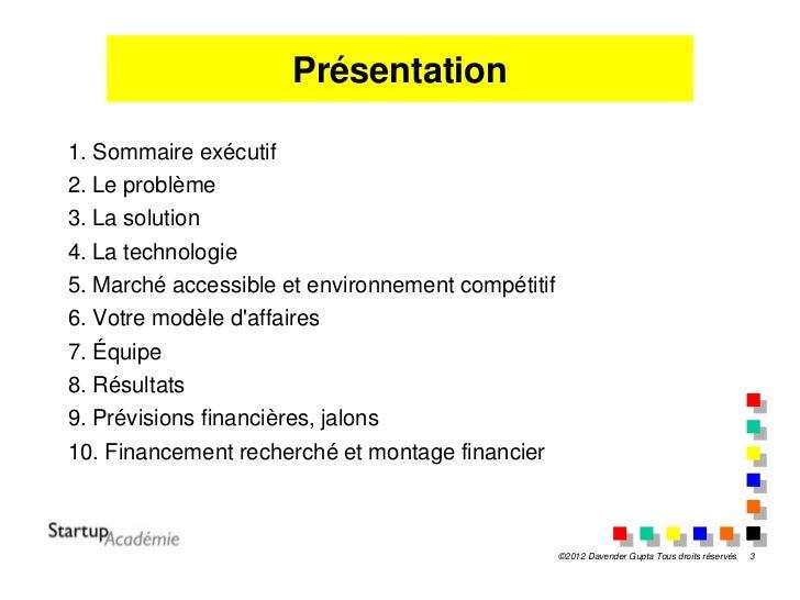 comment convaincre un investisseur pdf