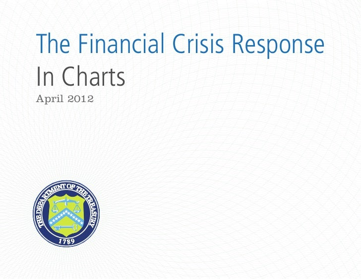 The Financial Crisis Response - In Charts