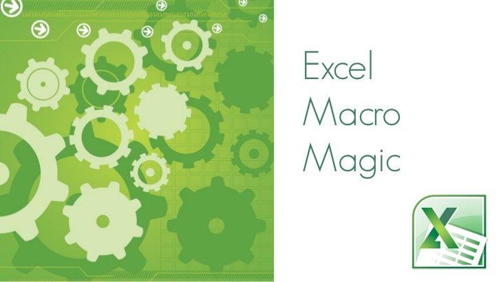 ExcelMacroMagic