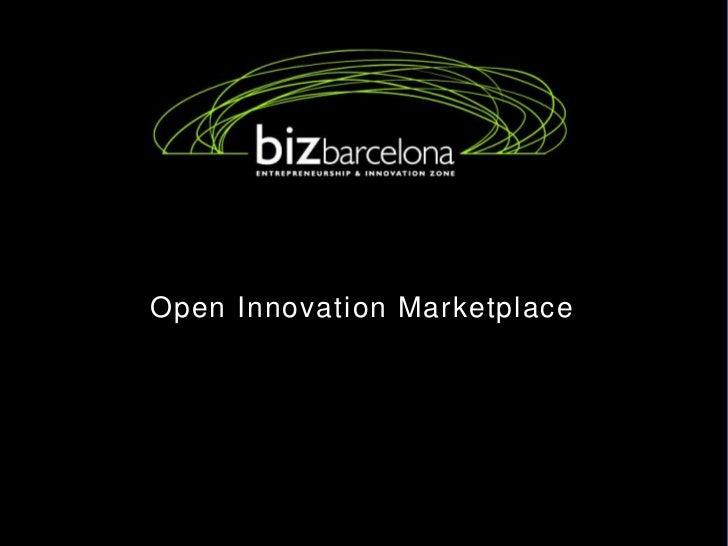 Open Innovation Marketplace