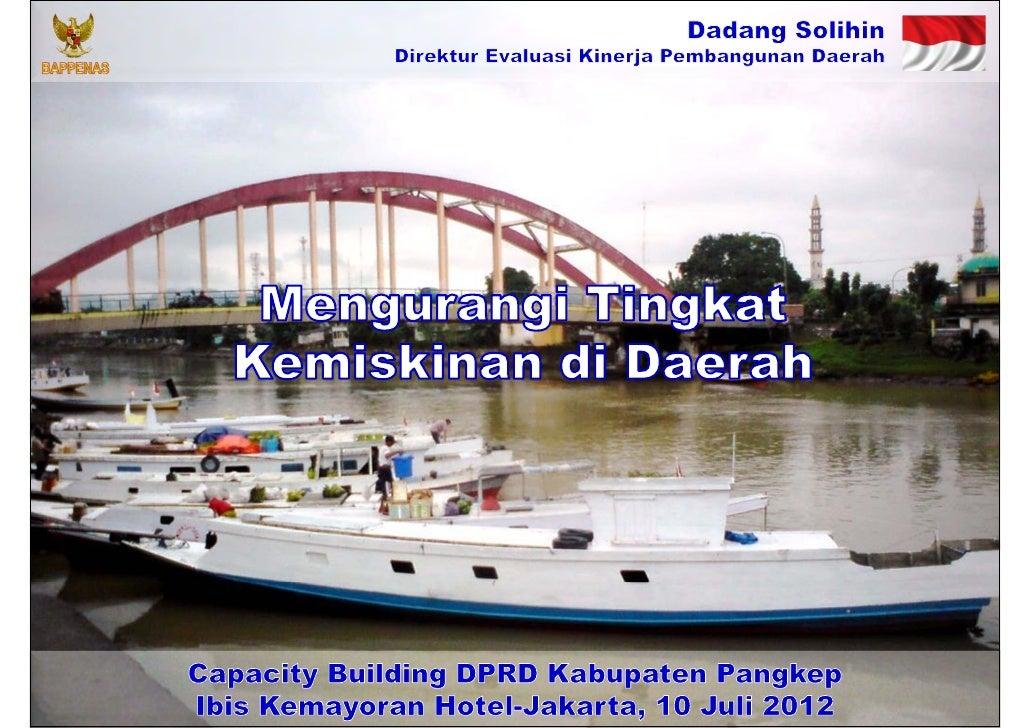 Mengurangi Tingkat Kemiskinan di Daerah