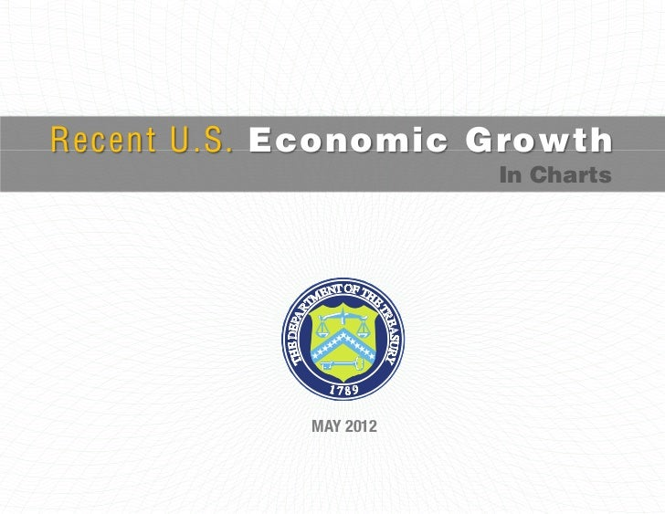 Recent U.S. Economic Growth                       In Charts            MAY 2012
