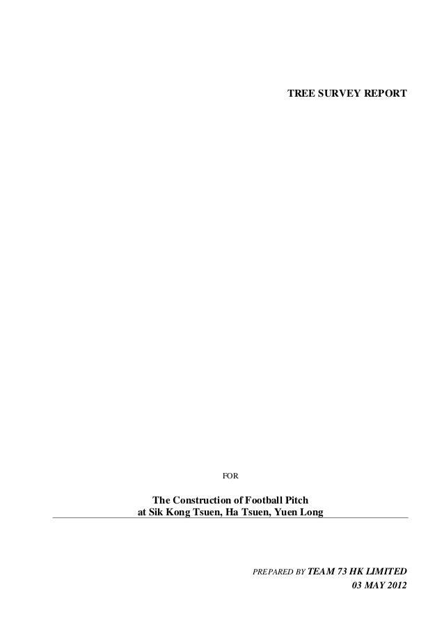 20120503 tree survey report