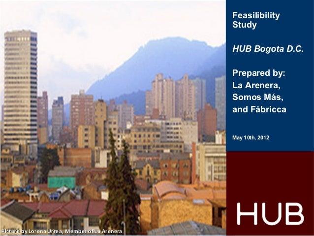 Feasilibility                                                Study                                                HUB Bogo...