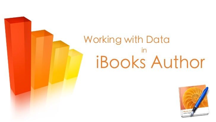 Working with Data in iBooks Author