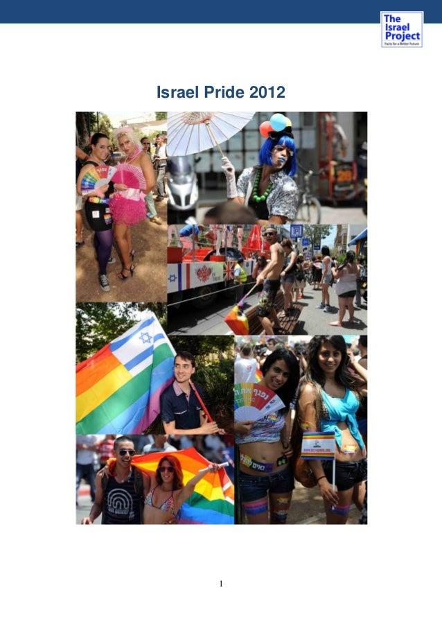 1 Israel Pride 2012