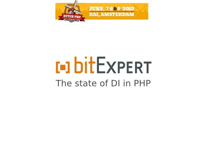 The state of DI - DPC12