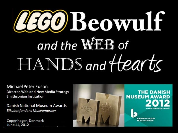 Lego Beowulf and the Web of Hands and Hearts, for the Danish national museum awards :: Michael Edson