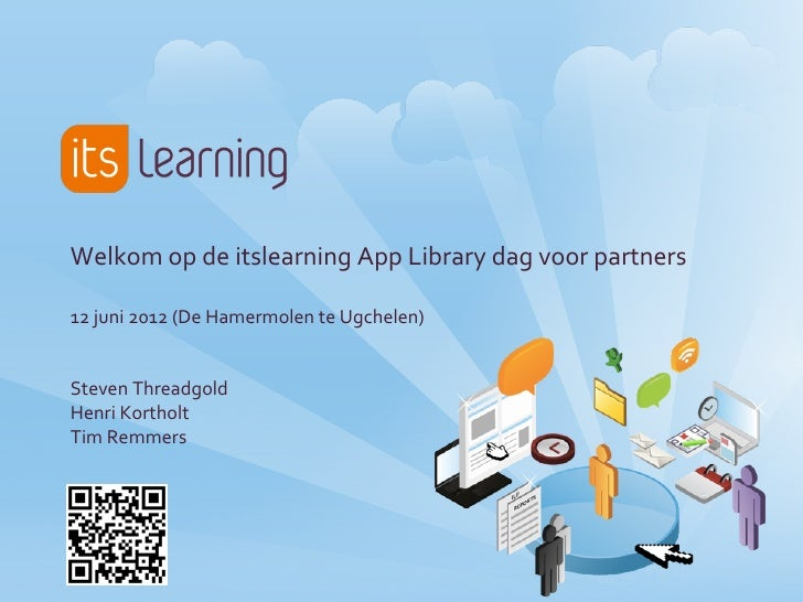 20120612 itslearning app library dag for Itslearning